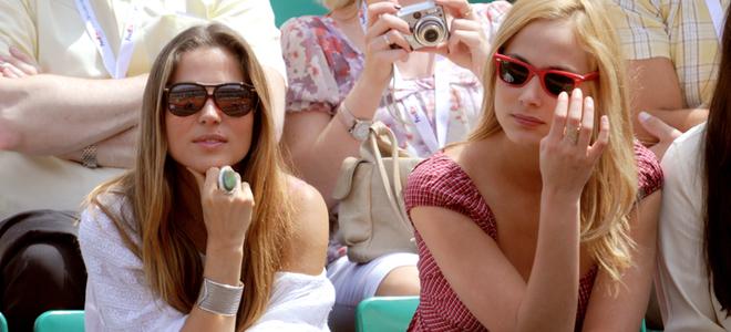 Tony Parker, Bar Refaeli y Elsa Pataky: tarde de tenis en el Ronald Garros