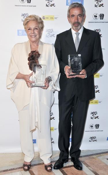 Lola Herrera e Imanol Arias reciben el Premio de la Fundación Casa del Actor 2011