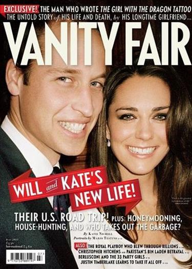 Tras los pasos de Felipe y Letizia: Guillermo y Kate Middleton posan para 'Vanity Fair'