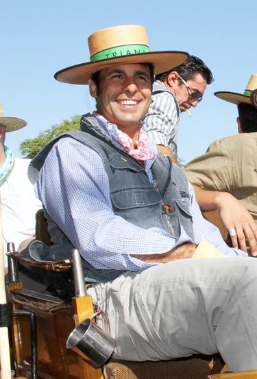 Fran Rivera disfruta solo de la Romería de El Rocío:
