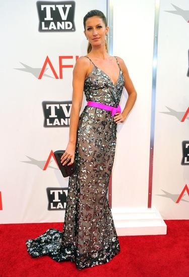 Paz Vega y Gisele Bundchen, deslumbrantes en los Premios AFI 2011
