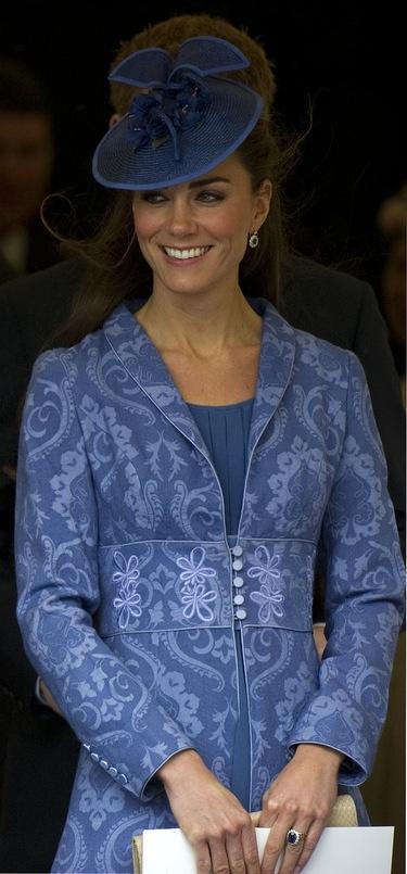 Kate Middleton repite el vestido de Zara que lució tras su boda en el cumpleaños del Duque de Edimburgo