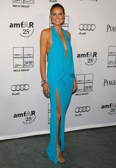 Jennifer Hudson y Heidi Klum despliegan su glamour en la amfAR Inspiration Gala
