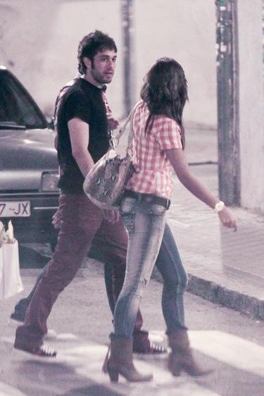 Lara Álvarez y Dani Martínez se divierten juntos ajenos a los rumores de su romance