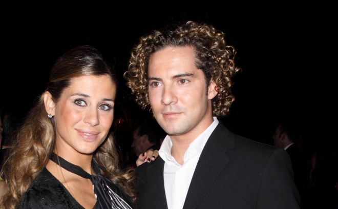 David y Elena en 2009