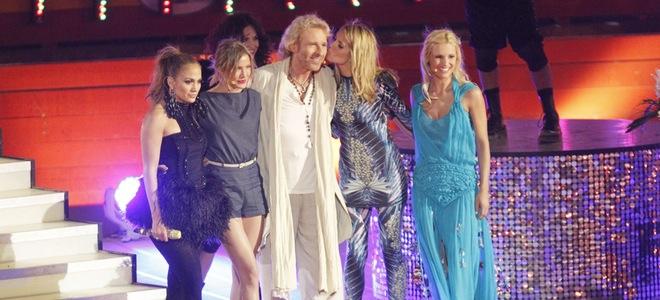 Heidi Klum, Jennifer Lopez y Cameron Diaz graban '¿Qué apostamos?' en Mallorca