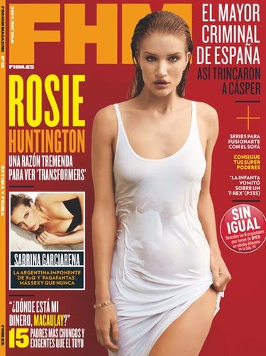 Rosie Huntington confiesa que le gustaría compaginar pasarela e interpretación