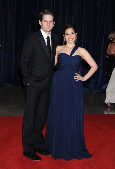 boda de America Ferrera y Ryan Piers Williams