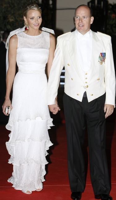 Charlene Wittstock y Alberto de Mónaco
