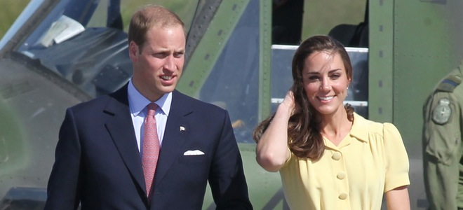 El Príncipe Guillermo y Kate Middleton se despiden de Canadá asistiendo a un rodeo