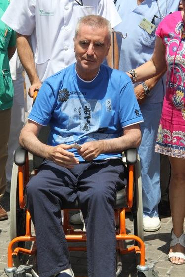 La primera imagen de José Ortega Cano tras recibir el alta hospitalaria