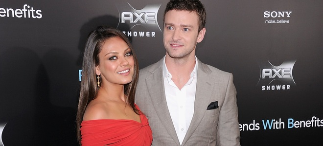 Justin Timberlake y Mila Kunis enseñan a Irina Shayk cómo ser 'Amigos con beneficios'