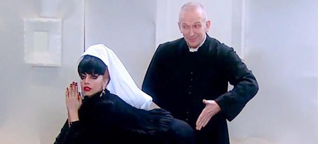 Lady Gaga y jean paul Gaultier