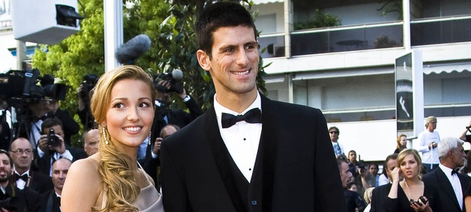 Djokovic y Jelena Ristic
