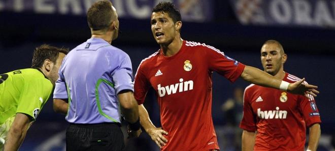 Cristiano Ronaldo de rojo