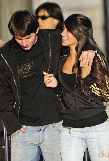 Antonella Roccuzzo, novia de Leo Messi, podría estar embarazada