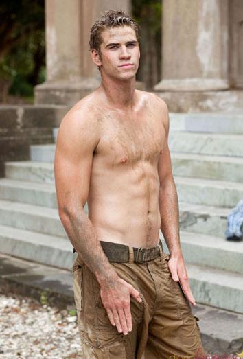 Liam Hemsworth, de novio de Miley Cyrus a protagonista de Juegos del Hambre
