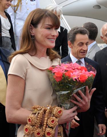 Nikolás Sarkosy Carla Bruni Elecciones Francia