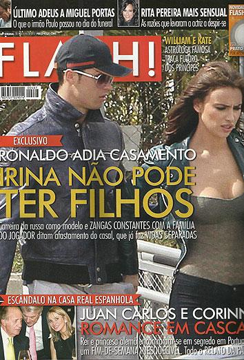Irina Shayk y Cristiano Ronaldo se separan