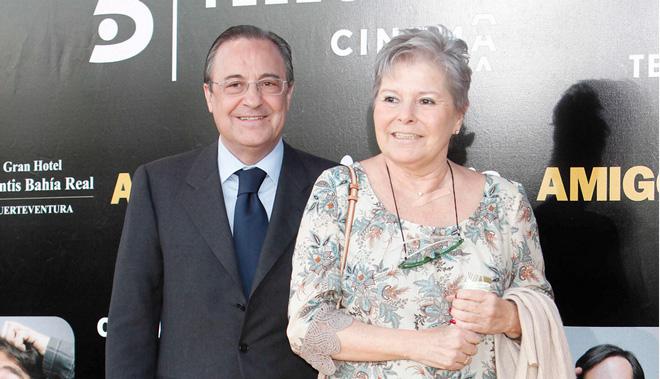 Muerte de Pitina, mujer del presidente del Real Madrid Florentino Perez