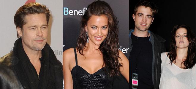 Brad Pitt, Irina Shayk, Robert Pattinson y Kristen Stewart, protagonistas del festival de Cannes