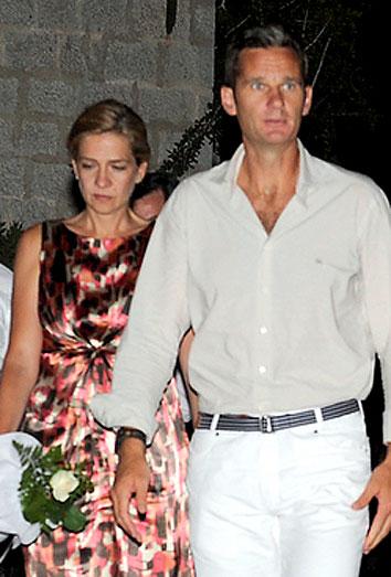 La Infanta Cristina e Iñaki Urdangarin