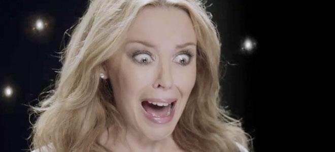 Kylie Minogue, una de los famosos amenazados de muerte en twitter