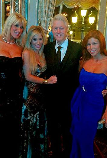Las actrices porno de Bill Clinton