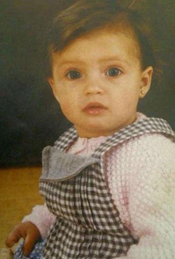 Iker Casillas sube a Facebook una foto de Sara Carbonero de pequeña