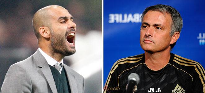Guardiola y Mourinho, juntos por un millón y medio de euros
