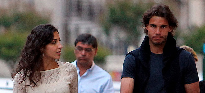 La novia de Rafa Nadal, Xisca Perelló, le deja solo en el Roland Garros