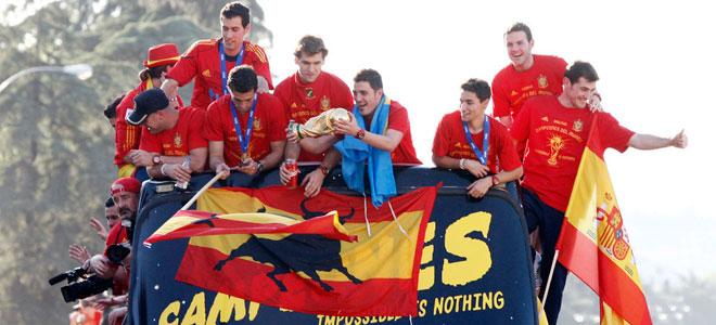 Eurocopa 2012: La Roja, campeona del mundo tembién en solidaridad