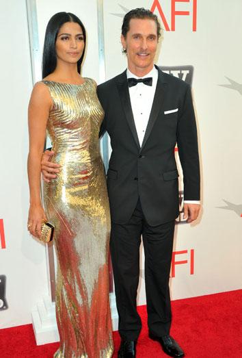Penélope Cruz ve como su ex Matthew McConaughey se casa con