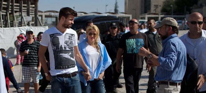 La romántica noche de Shakira y Piqué en el día libre de La Roja en la Eurocopa