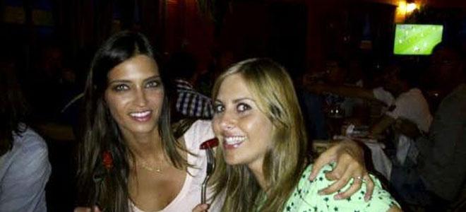 Sara Carbonero, sin Casillas, de cena en Polonia y muy bien acompañada