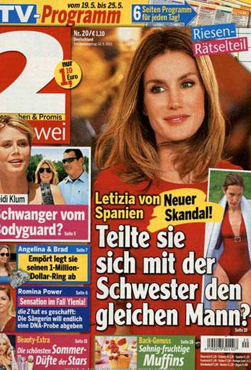 Letizia y Telma Ortiz, en la prensa alemana