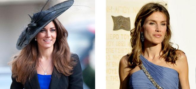 Letizia y Kate Middleton, dos looks muy diferentes, sobre todo por el precio