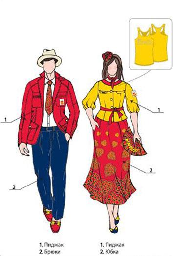 El traje olímpico español, poligonero, casposo y encima de marca extranjera
