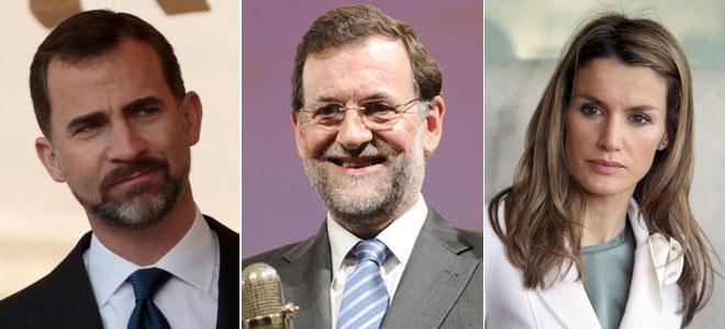El Príncipe cambia a Letizia por Rajoy para la final de Ucrania. ¿Por qué no va la Princesa?