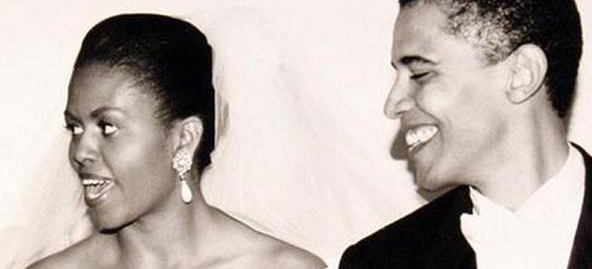 La historia de amor de los Obama