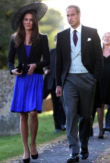 Kate Middleton y el Príncipe Guillermo, de boda ¡con dos ex novios de cada uno!