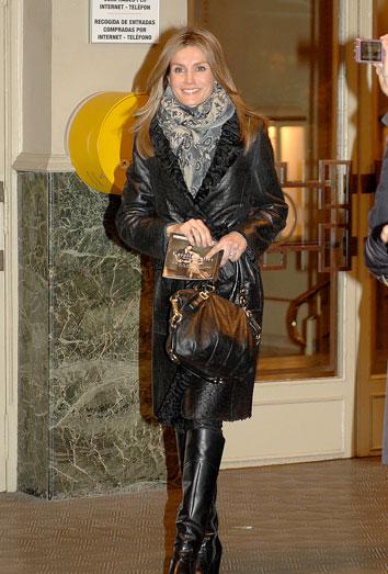 Letizia se va de concierto y deja en casa a Felipe. Las vidas por separado de los Príncipes