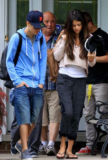 Justin Bieber y Selena Gomez:ruptura de la relación y acusaciones de infidelidad
