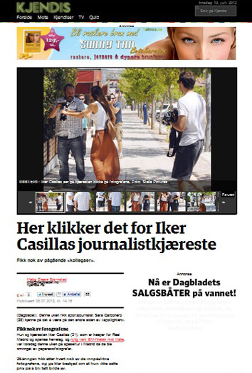 Sara Carbonero pierde los nervios con la prensa ante la atónita mirda de Iker Casillas