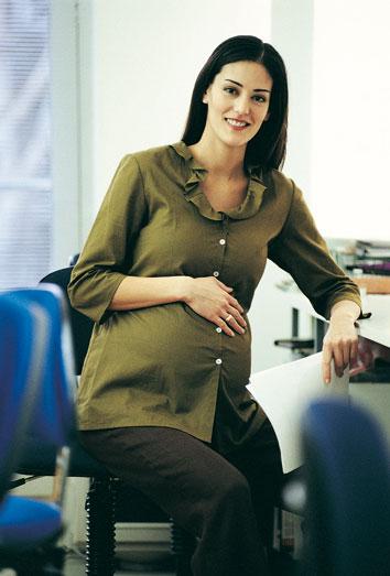 Trabajar durante el embarazo