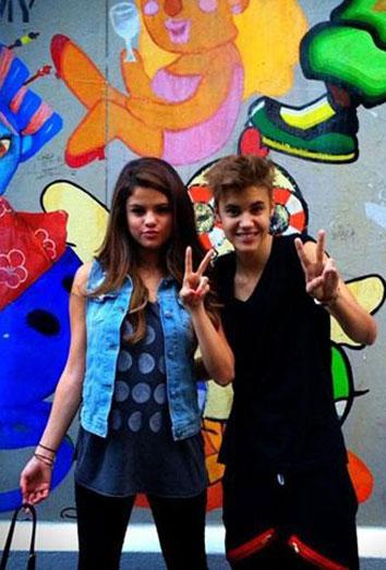Justin Bieber y Selena Gomez: la foto que desmiente la ruptura de su relación