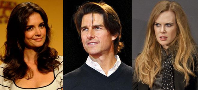 La estrategia de Katie Holmes contra Tom Cruise, con Nicole Kidman como cómplice