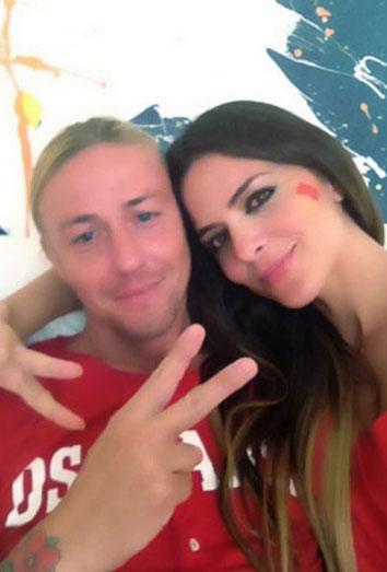 Guti y Romina de vacaciones en ibiza