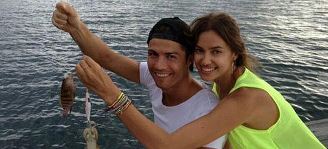 Cristiano Ronaldo y su novia Irina Shayk, más naturales que nunca en Tailandia
