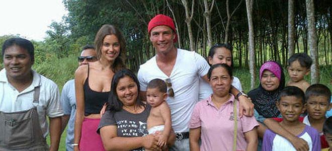 Cristiano Ronaldo e Irina Shayk, más naturales que nunca en Tailandia